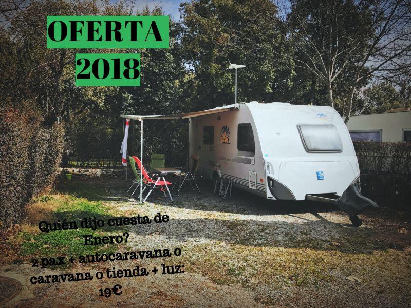 Invierno en Camping Las Lomas